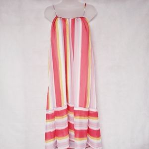 ENDLESS ROSE Stripe Fit an Flare Dress X-Small